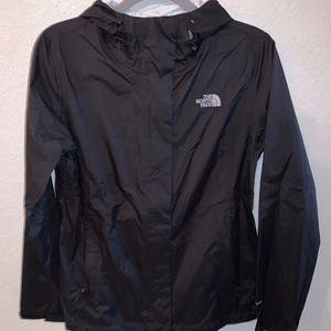 The North Face Rain Jacket Black- Venture 2 Jacket